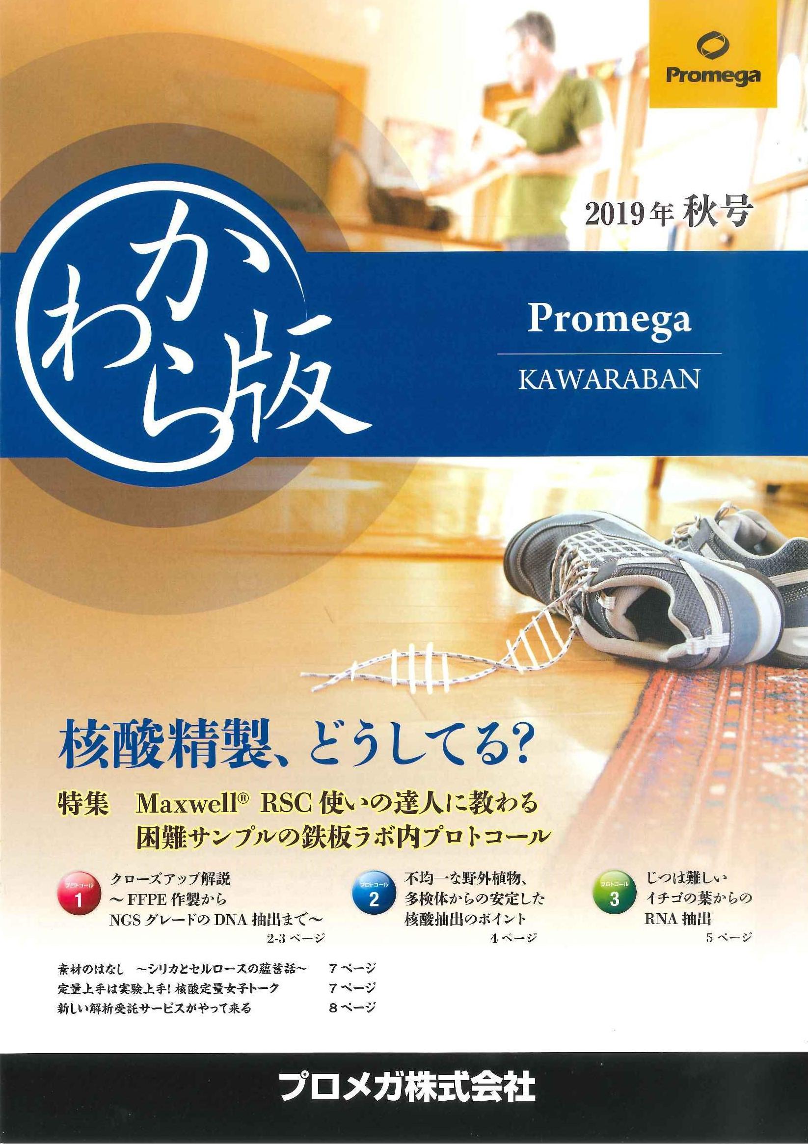 かわら版 2019年秋号【プロメガ 】